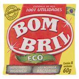 Esponja Aço Bom Bril Eco Pacote 60g