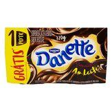 Pack Danette de Chocolate ao Leite Danone Bandeja de 720g com 8 Unidades Grátis 1 Unidade