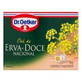 Chá Erva-Doce-Nacional Dr. Oetker Caixa 15 Unidades