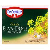 Chá Erva-Doce-Nacional Dr. Oetker Caixa 10 Unidades