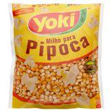 Milho para Pipoca Tipo 1 Yoki Pacote 500g