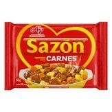 Tempero para Carnes Sazón Pacote 60g 12 Unidades