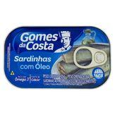 Sardinha com Óleo Gomes da Costa Lata 84g