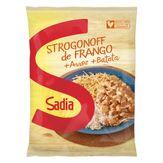 Strogonoff Frango com Arroz e Batata Sadia Pacote 350g