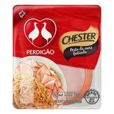 Peito de Aves Cozido e Defumado Fatiado Perdigão Pacote Chester 200g