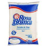 Farinha de Trigo Tipo 1 Rosa Branca Pacote 1kg