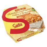 Torta Frango, Palmito, Milho e Requeijão com Massa de Iogurte Sadia Caixa 500g