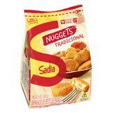 Empanado de Frango Tradicional Nuggets Sadia Pacote 300g
