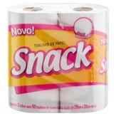 Toalha de Papel Folha Dupla Snack Pacote 2 Unidades