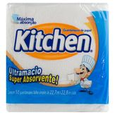 Guardanapo de Papel Folha Simples Ultra Macio Kitchen Pacote 50 Unidades