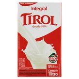 Leite Integral Tirol Caixa 1l