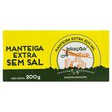 Manteiga sem Sal Aviação Barra 200g