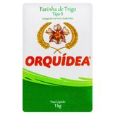 Farinha de Trigo Tipo 1 Orquídea Pacote 1kg