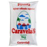 Açúcar Refinado Especial Caravelas Pacote 1kg
