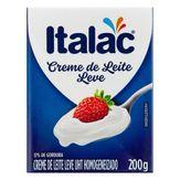 Creme de Leite UHT Leve Homogeneizado Italac Caixa 200g