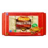 Pão de Alho Baguete Picante Recheio Queijo Zinho Pacote 300g