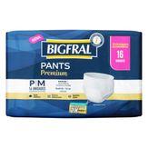 Roupa Íntima Descartável Pants Premium P/M 16 Unidades