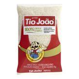 Arroz Branco 100% Grãos Nobres Tio João 1kg
