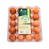 Ovos Vermelhos Caipira Ares Do Campo 20 Unidades
