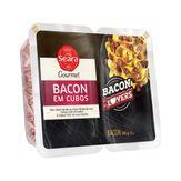 Bacon em Cubos Seara Gourmet Bandeja 140g