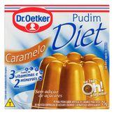 Pó para Pudim Caramelo Diet Dr. Oetker Sachê 25g