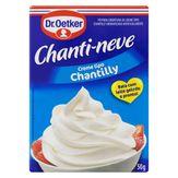 Chantilly em Pó Dr. Oetker Chanti-Neve Caixa 50g