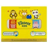 Lenço de Papel Folha Dupla Kleenex Kids Caixa Leve 60 Pague 50 Unidades
