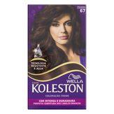 Coloração Creme 67 Chocolate Wella Koleston