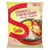 Frango à Parmegiana com Arroz e Batata Palha Sadia Pacote 350g