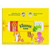 Lenço de Papel Folha Dupla Kleenex Caixa Leve 100 Pague 80 Unidades