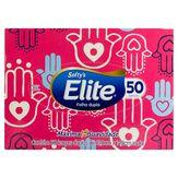 Lenço de Papel Folha Dupla Elite Softy's Caixa 50 Unidades