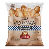 Mini Pão Francês Tradicional Brico Pacote 300g