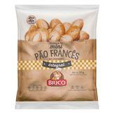 Mini Pão Francês Integral Brico Pacote 300g