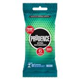 Preservativo Masculino Lubrificado Extra Texturizado Prudence Pacote 6 Unidades