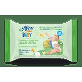 Toalhas Umedecidas Aloe Vera Alev Baby Pacote 96 Unidades
