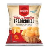 Pão de Queijo Tradicional Confiare Pacote 300g
