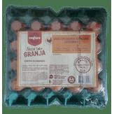 Ovos Vermelhos Tipo Grande Categoria A Nossa Granja Confiare Bandeja 20 Unidades