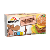 Hambúrguer Faroeste com Mix de Carne Aurora Caixa 672g
