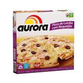 Pizza Congelada de Lombo com Requeijão Aurora Caixa 460g