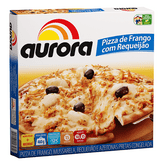 Pizza Congelada de Frango com Requeijão Aurora Caixa 460g