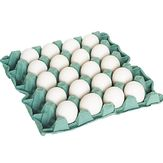 Ovos Brancos Tipo Grande Bandeja com 20 Unidades