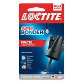 Cola Super Bonder com Pincel Fácil de Espalhar Loctite Cartela 4g