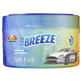 Odorizador de Autos e Ambientes em Gel Tutti Frutti Breeze Proauto Pote 60g
