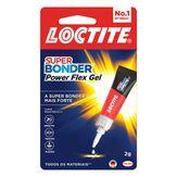 Super Bonder Power Flex Gel Control Loctite Cartela 2g