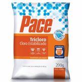 Desinfetante para Piscina Tricloro Pace Pacote 200g