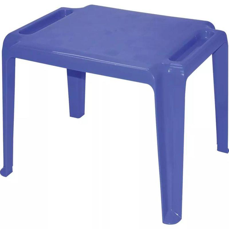Mesa-Infantil-em-Polipropileno-Azul-Dona-Chica-Tramontina