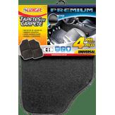 Jogo de Tapetes Automotivo Carpete Premium Luxcar 4 Peças