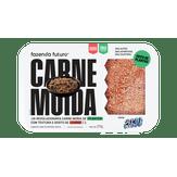 Carne Moída Vegetal Congelada sem Glúten Fazenda Futuro 270g