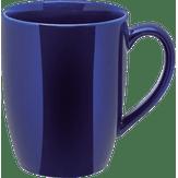 Caneca Cerâmica Azul 325ml