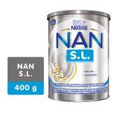 Fórmula Infantil Sem Lactose Nan S.L Nestlé Lata 400g